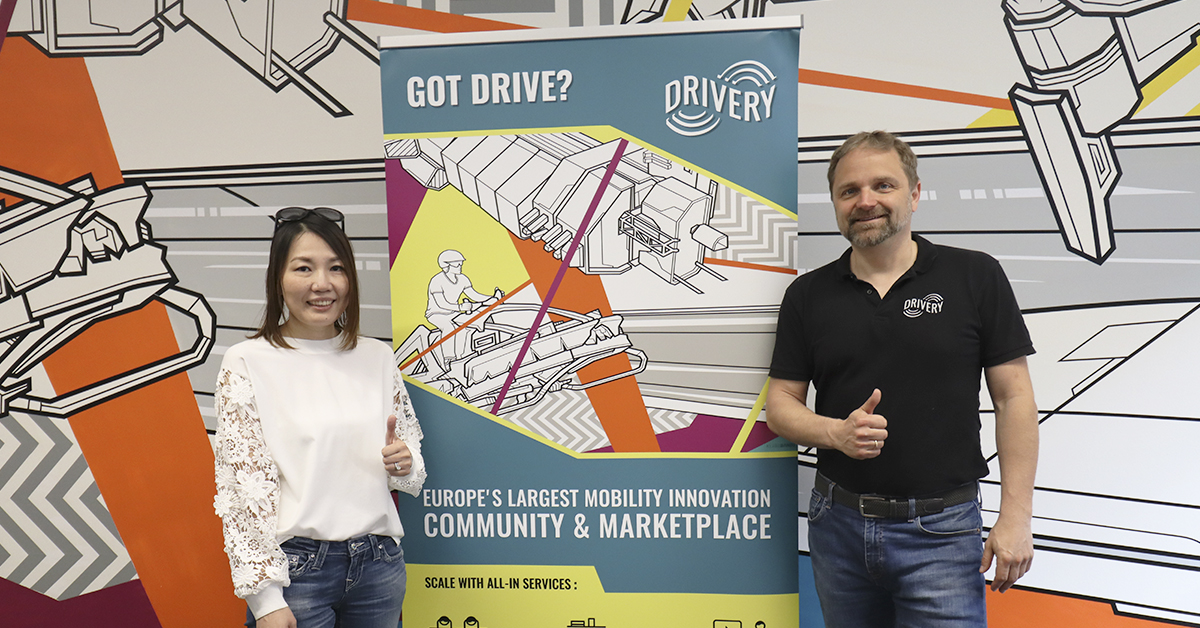 The Drivery goes Japan –  Now launching: The Accelerator Program for Mobility Startups